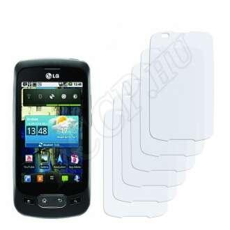 LG P500 Maximo One kijelzővédő fólia