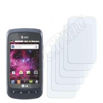 LG P505 Phoenix kijelzővédő fólia