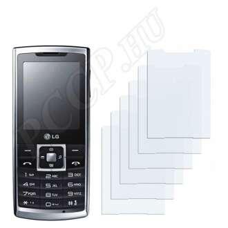 LG S310 kijelzővédő fólia