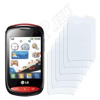 LG T310 Cookie Style kijelzővédő fólia