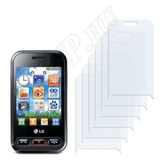 LG T320 Cookie 3G kijelzővédő fólia