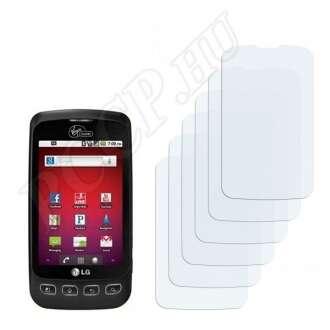 LG VM670 Optimus V kijelzővédő fólia