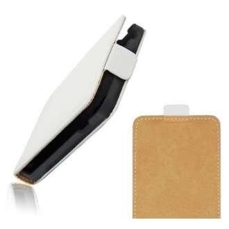 LG G3 fehér flip bőr tok