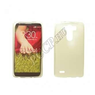 LG G3 átlátszó vékony szilikon hátlap