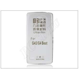LG G4S átlátszó szilikon hátlap