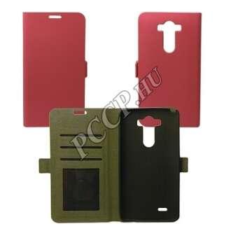 LG K4 pink flip oldalra Nyiltó tok