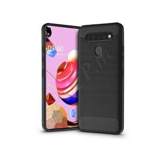 LG K51S fekete szilikon hátlap