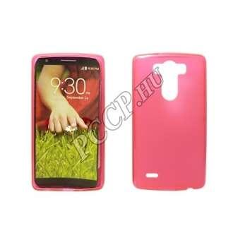 LG K8 rózsaszín vékony szilikon hátlap