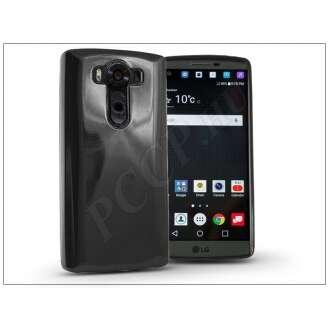 LG V10 fekete szilikon hátlap