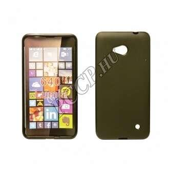 Microsoft Lumia 650 fekete vékony szilikon hátlap
