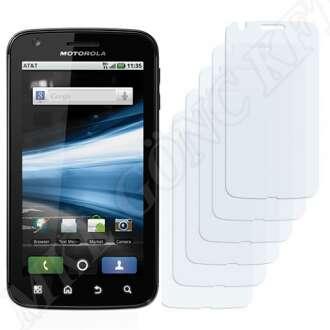 Motorola Atrix 4G MB860 kijelzővédő fólia