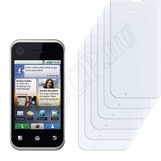 Motorola BackFlip kijelzővédő fólia