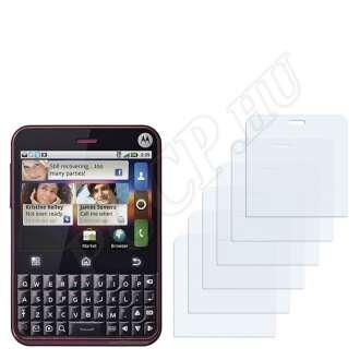 Motorola Charm kijelzővédő fólia