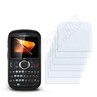 Motorola Clutch + i475 kijelzővédő fólia