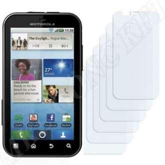 Motorola Defy+ MB526 kijelzővédő fólia