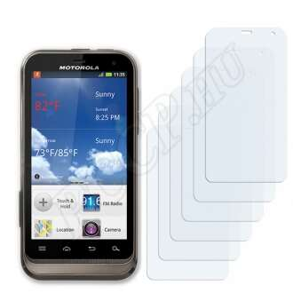 Motorola DEFY XT kijelzővédő fólia