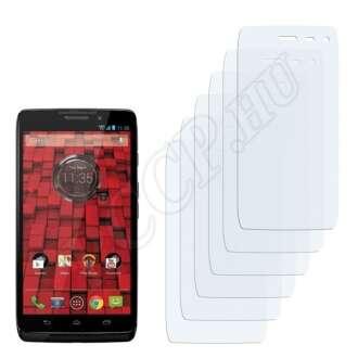 Motorola Droid 4G kijelzővédő fólia