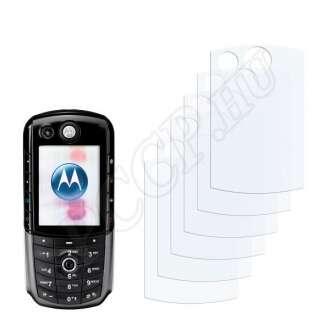 Motorola E1000 kijelzővédő fólia