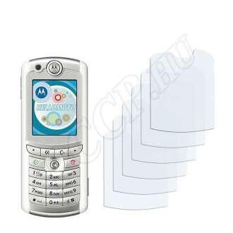 Motorola E770v kijelzővédő fólia