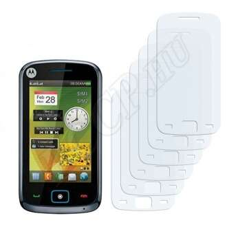 Motorola Ex122 kijelzővédő fólia