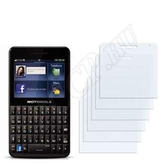 Motorola EX225 Motokey Social kijelzővédő fólia