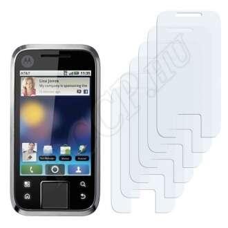 Motorola Flipside kijelzővédő fólia