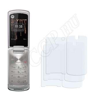 Motorola Gleam kijelzővédő fólia