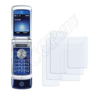 Motorola KRZR K1 kijelzővédő fólia