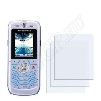 Motorola L6 kijelzővédő fólia