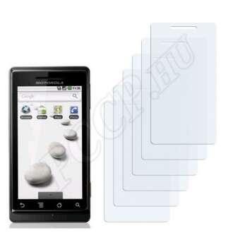 Motorola Milestone 1 kijelzővédő fólia