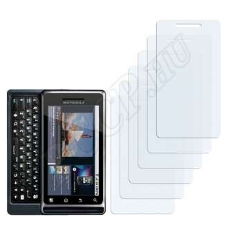 Motorola Milestone 2 A953 kijelzővédő fólia