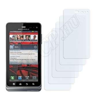 Motorola Milestone 3 XT860 kijelzővédő fólia