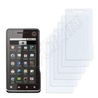 Motorola Milestone XT720 kijelzővédő fólia