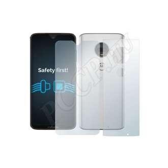 Motorola Moto G7 Plus (elő- és hátlap) kijelzővédő fólia