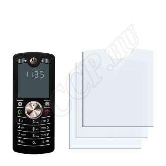 Motorola Motofone F3 kijelzővédő fólia