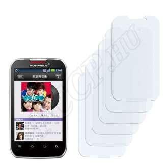 Motorola Motosmart Mix XT550 kijelzővédő fólia