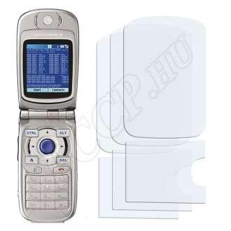 Motorola MPX220 kijelzővédő fólia