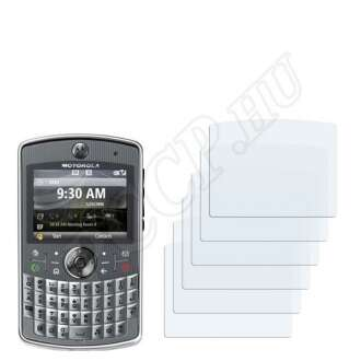 Motorola Q9h kijelzővédő fólia