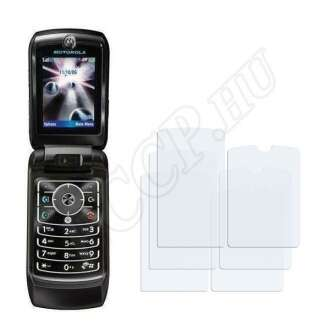 Motorola Razr MAXX V6 kijelzővédő fólia