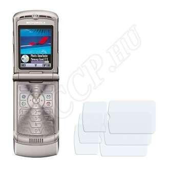 Motorola Razr V3 kijelzővédő fólia