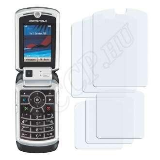 Motorola Razr V3x kijelzővédő fólia
