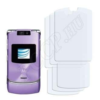 Motorola Razr V3xx kijelzővédő fólia
