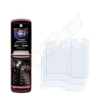 Motorola Razr2 V9 kijelzővédő fólia