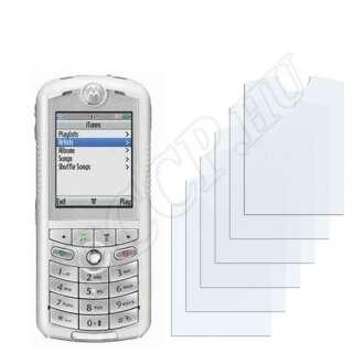 Motorola Rokr E1 kijelzővédő fólia