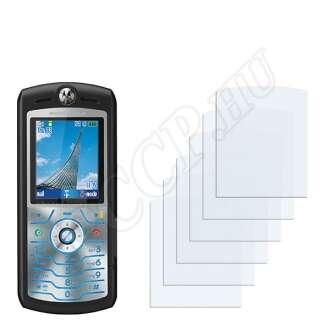 Motorola SLVR L7 kijelzővédő fólia
