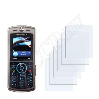 Motorola SLVR L9 kijelzővédő fólia