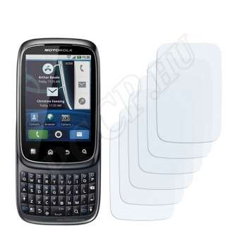 Motorola Spice kijelzővédő fólia