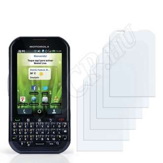 Motorola Titanium kijelzővédő fólia