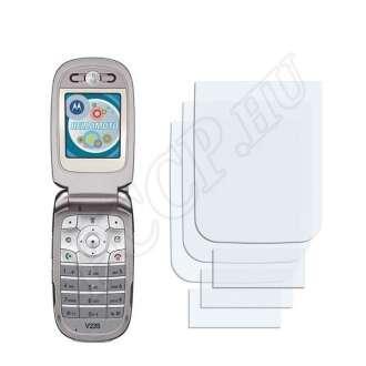 Motorola V235 kijelzővédő fólia