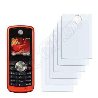 Motorola W230 kijelzővédő fólia